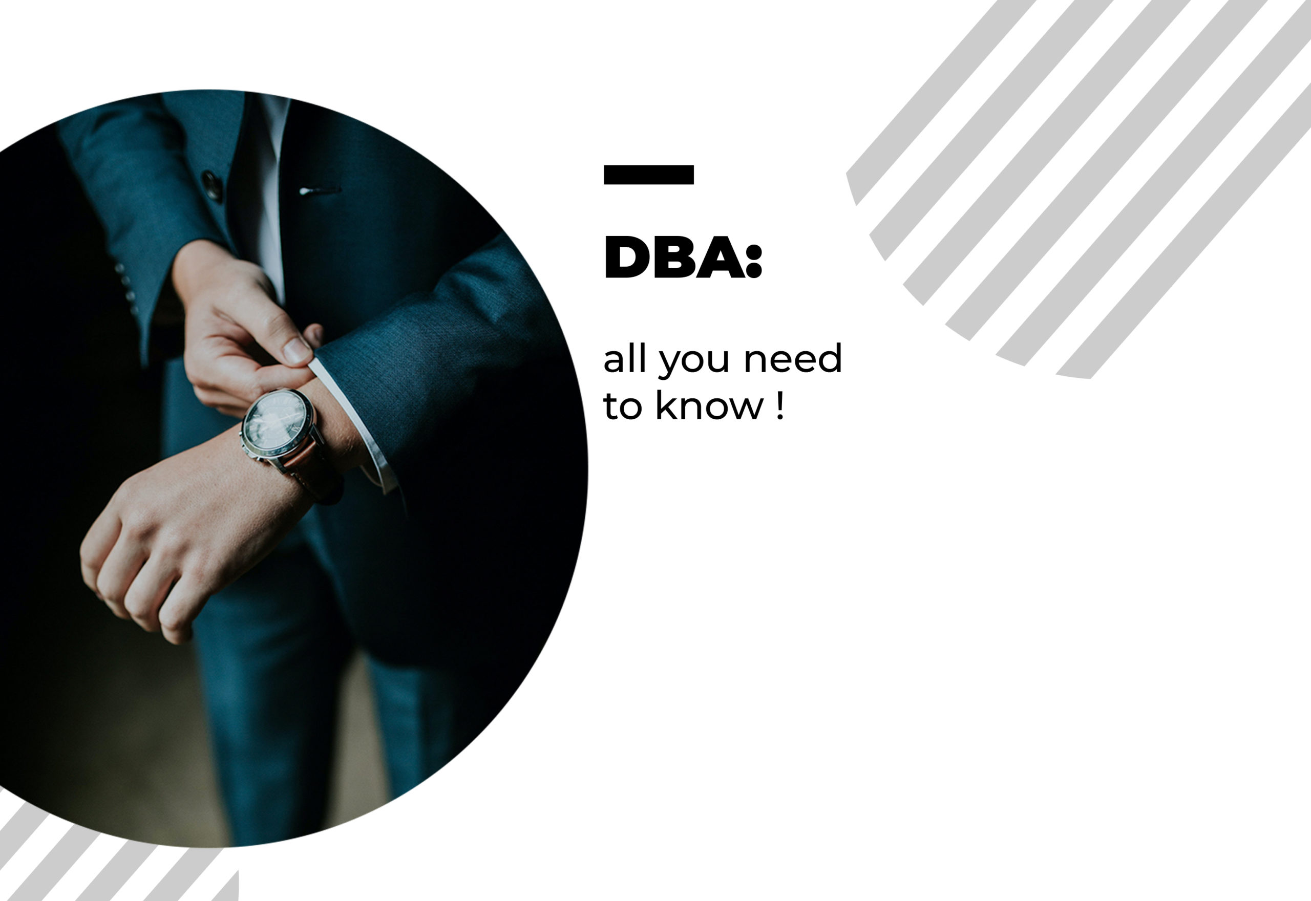 All you need to about DBA degrees
